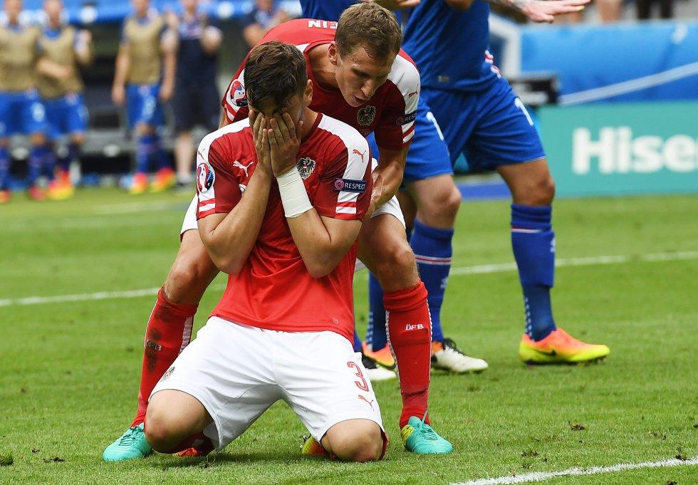 La decepción de Dragović tras el penal errado