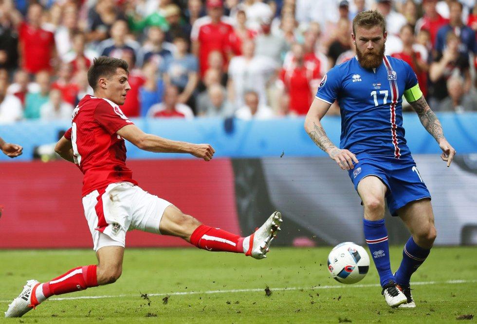 Schöpf el autor del gol del empate para Austria ante Islandia