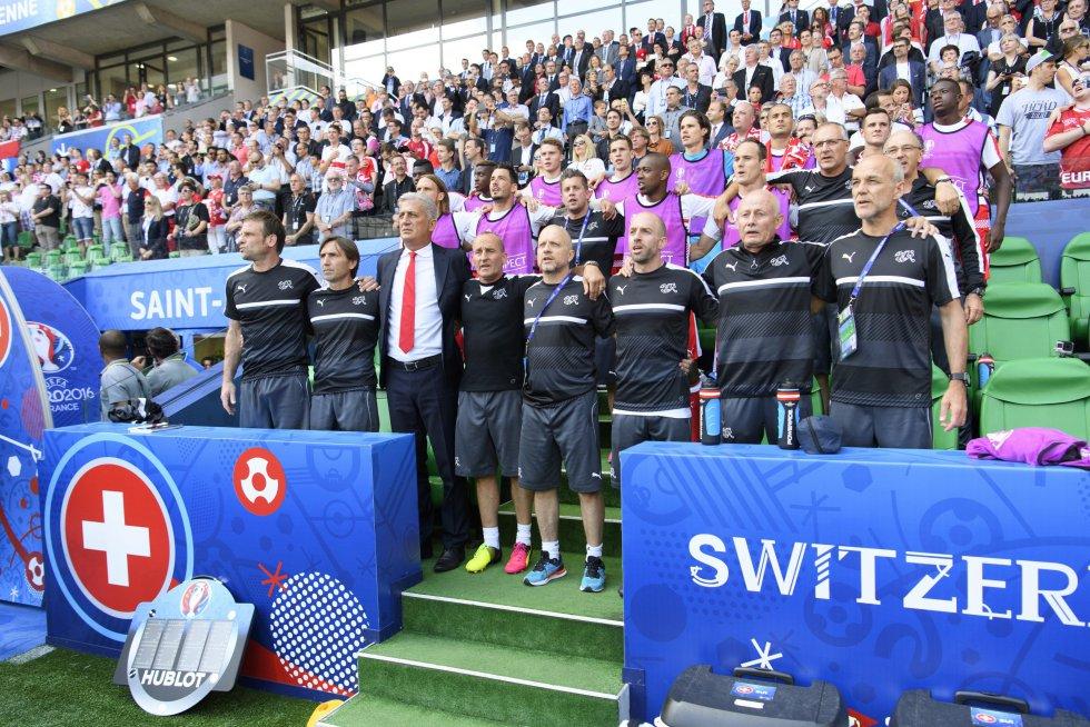 Cuerpo técnico de Suiza