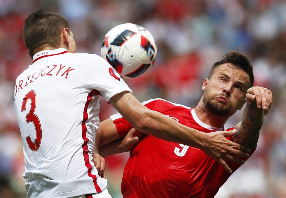 En imágenes: Polonia se quedó con el primer tiquete a los cuartos de la Euro