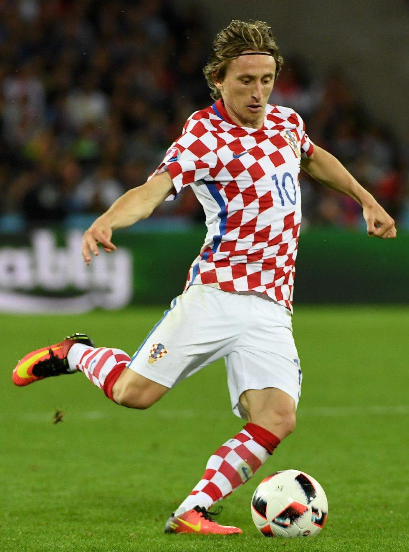 Modric no tuvo un partido destacado en la eliminación de su selección.