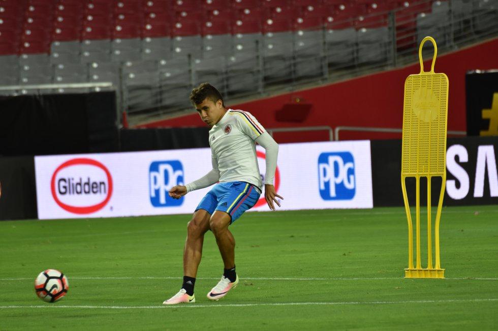 Andrés Felipe Roa espera sumar minutos en el juego por el tercer puesto.