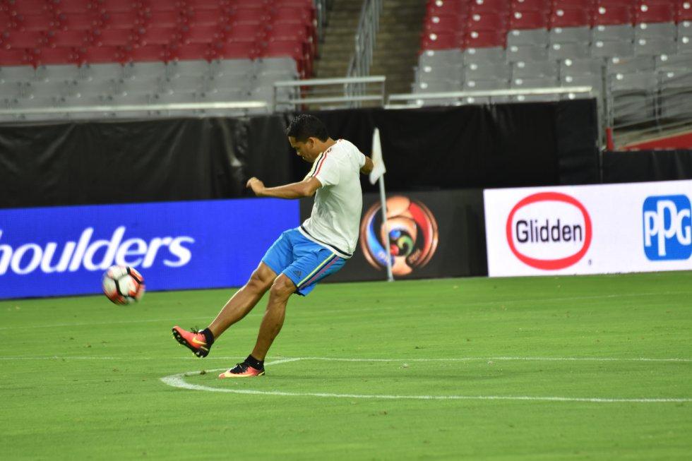 Carlos Bacca acumula un gol en la Copa América Centenario.