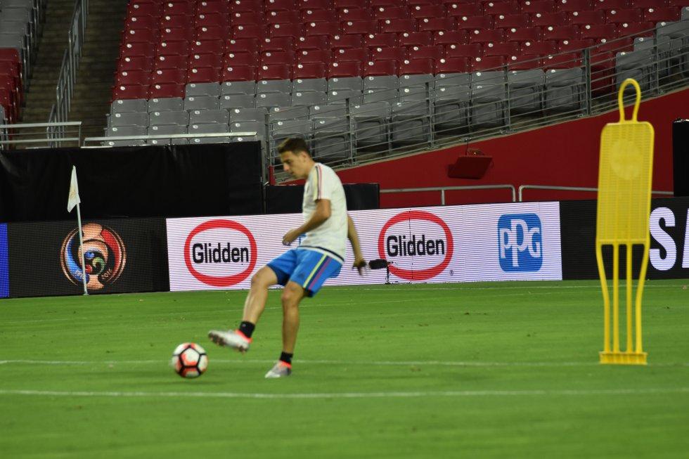 Santiago Arias sería titular nuevamente ante Estados Unidos.