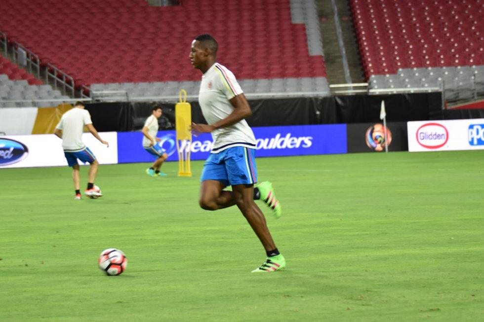 Yerry Mina también estará presente en la Selección Colombia que irá a Río de Janeiro.