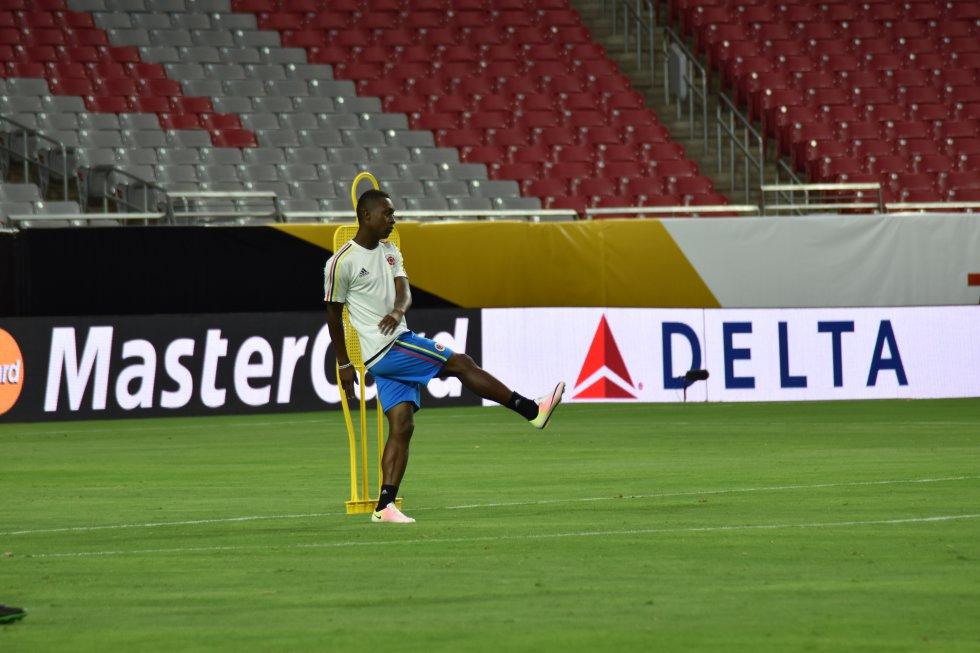 Marlos Moreno podría ser inicialista en el último juego de la Selección en la Copa América.