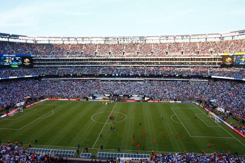 La final se juega en el estadio MetLife Stadium.