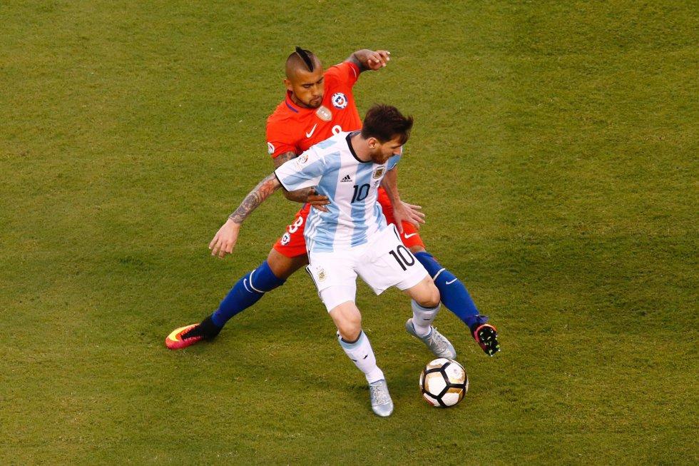 Lionel Messi capitán de la Selección Argentina.