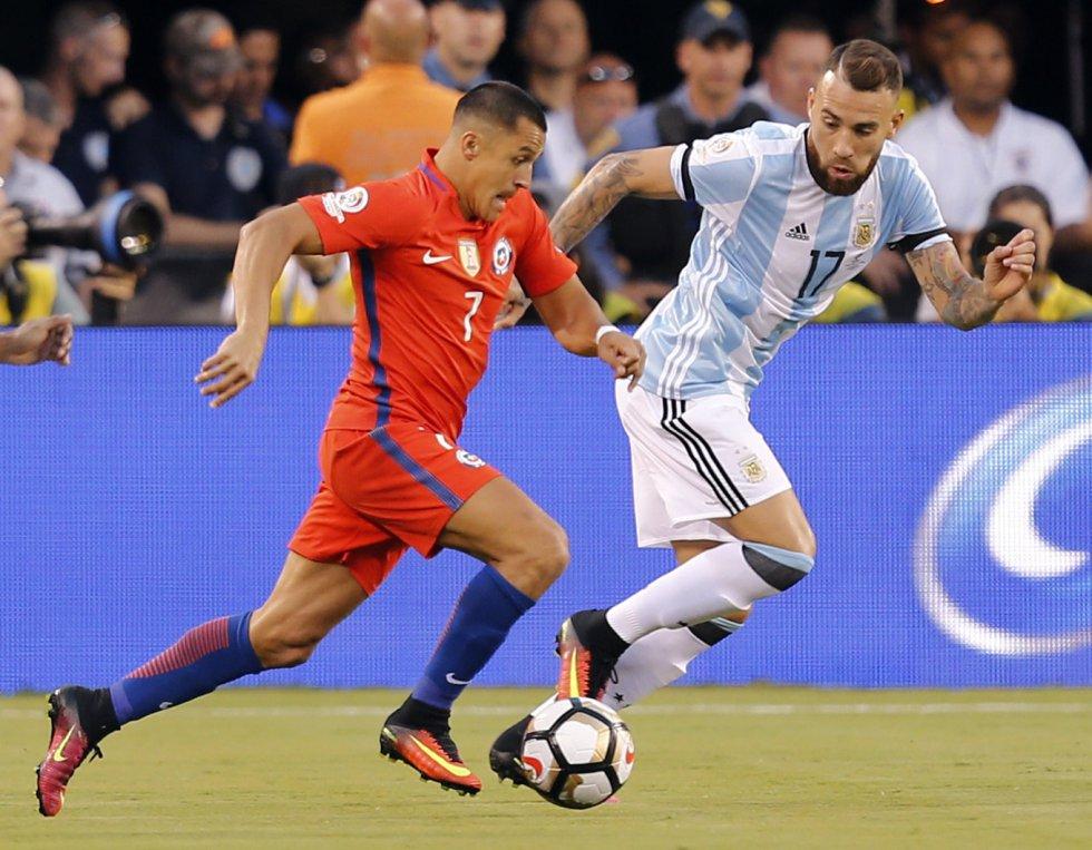 Chile no remató una sola vez al arco en el primer tiempo.