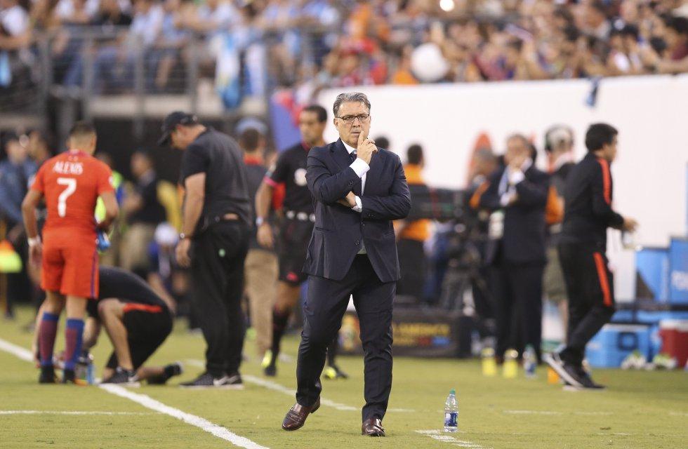 Gerardo Martino técnico de Argentina.