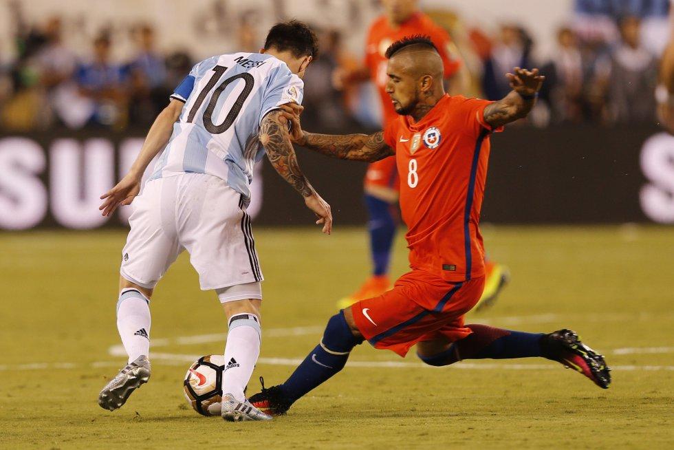Argentina fue el único equipo que tuvo un disparo a puerta en los 90 minutos.