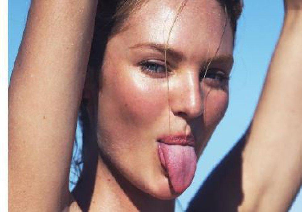 La sudafricana de 27 años está actualmente en estado de embarazo, pero no deja de lucir radiante y sensual.