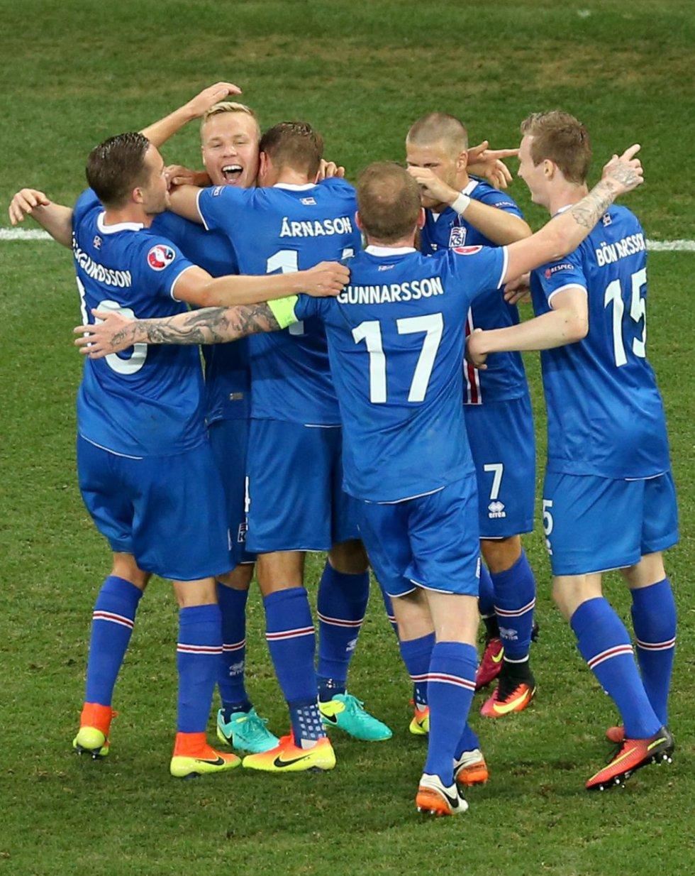 Sigþórsson anotó el segundo gol para Islandia.