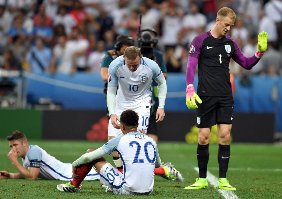 Inglaterra volvía a la Eurocopa después de haber estado ausente en 2012.