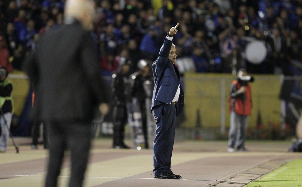 Reinaldo Rueda solo ha perdido un juego dirigido en el estadio Atahualpa en su trayectoria como estratega.