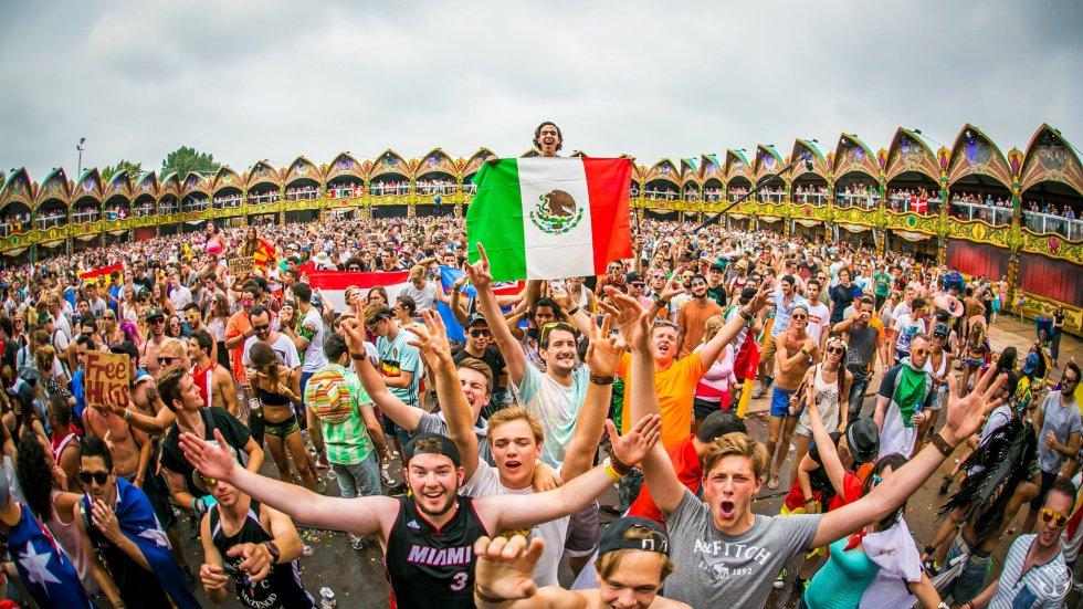 El festival congrega personas de todas las edades y nacionalidades.