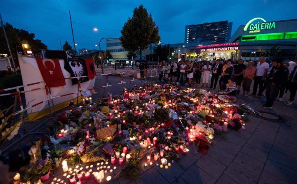 El tirador de Múnich planificó el ataque durante un año.