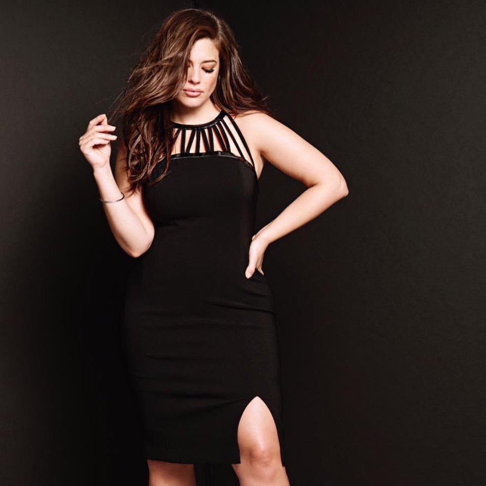 Ashley Graham modela ropa interior y ropa para talla grande de Lane Bryant.
