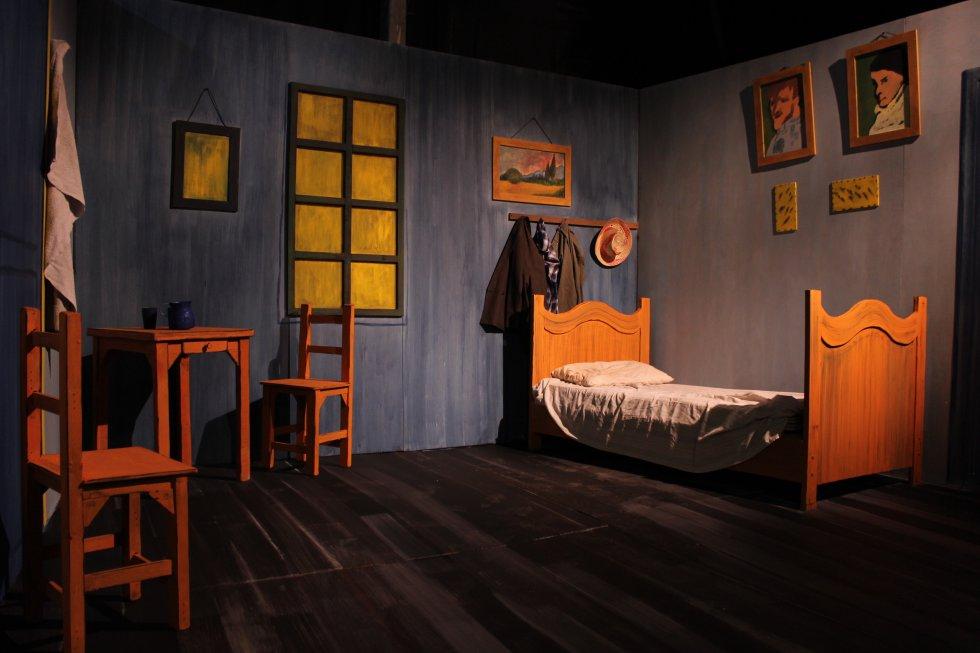 Al final de la exposición se pueden adquirir libros, camisetas, afiches de las pinturas y demás curiosidades en homenaje a Vincent Van Gogh.