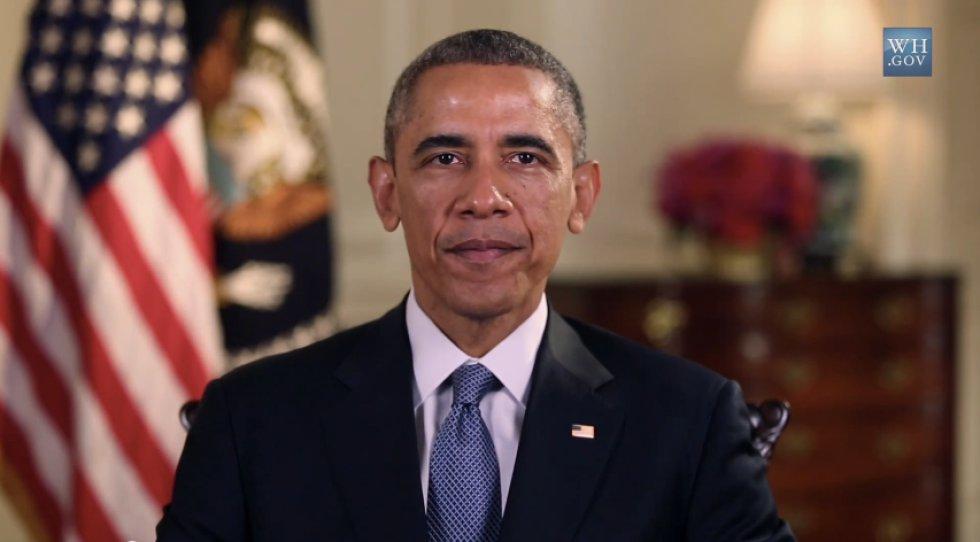 Obama es el primer presidente afroamericano en la historia de Estados Unidos.