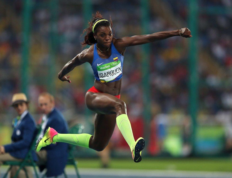 En imágenes: Los saltos que le dieron el oro a Caterine Ibargüen