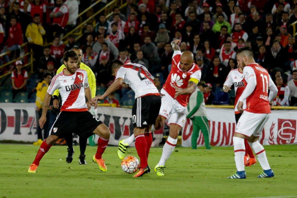 Omar Pérez no pudo dar claridad al ataque 'cardenal'.