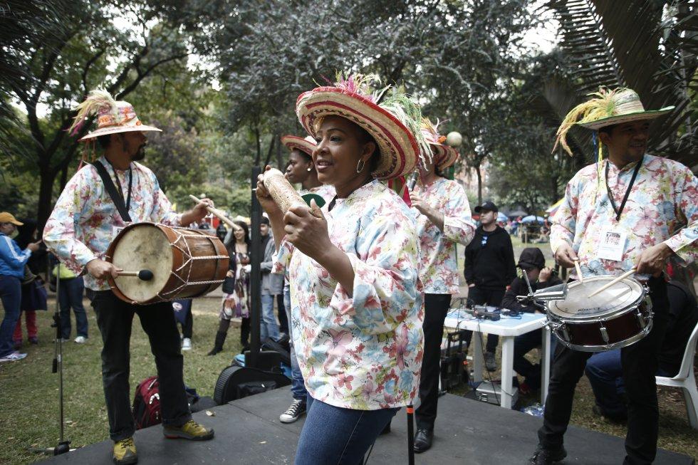 """El pacífico fue el invitado de honor durante el último fin de semana del festival, demostrando que """"Colombia sí Sabe"""" tal y como se le denomina a esta jornada del festival."""