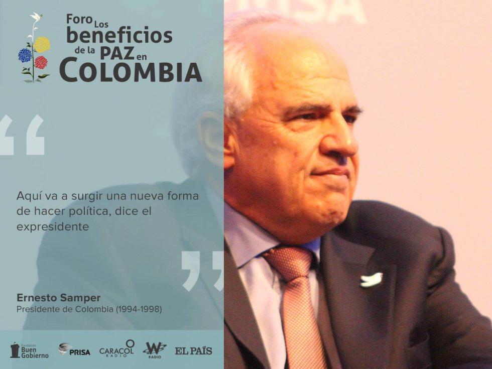 El ex presidente del gobierno español destaco la vocación del nobel en la búsqueda de la paz.