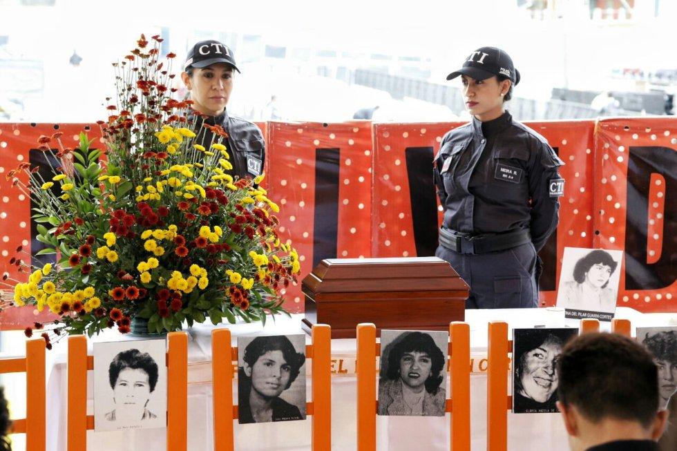 De no haber ocurrido los hechos del Palacio de Justicia, Cristina del Pilar Guarín, quien hacía parte del equipo de trabajo de la cafetería, hoy cumpliría 58 años.