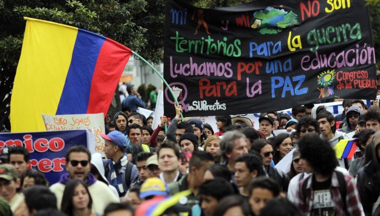 Resultado de imagen para marcha nacional colombia