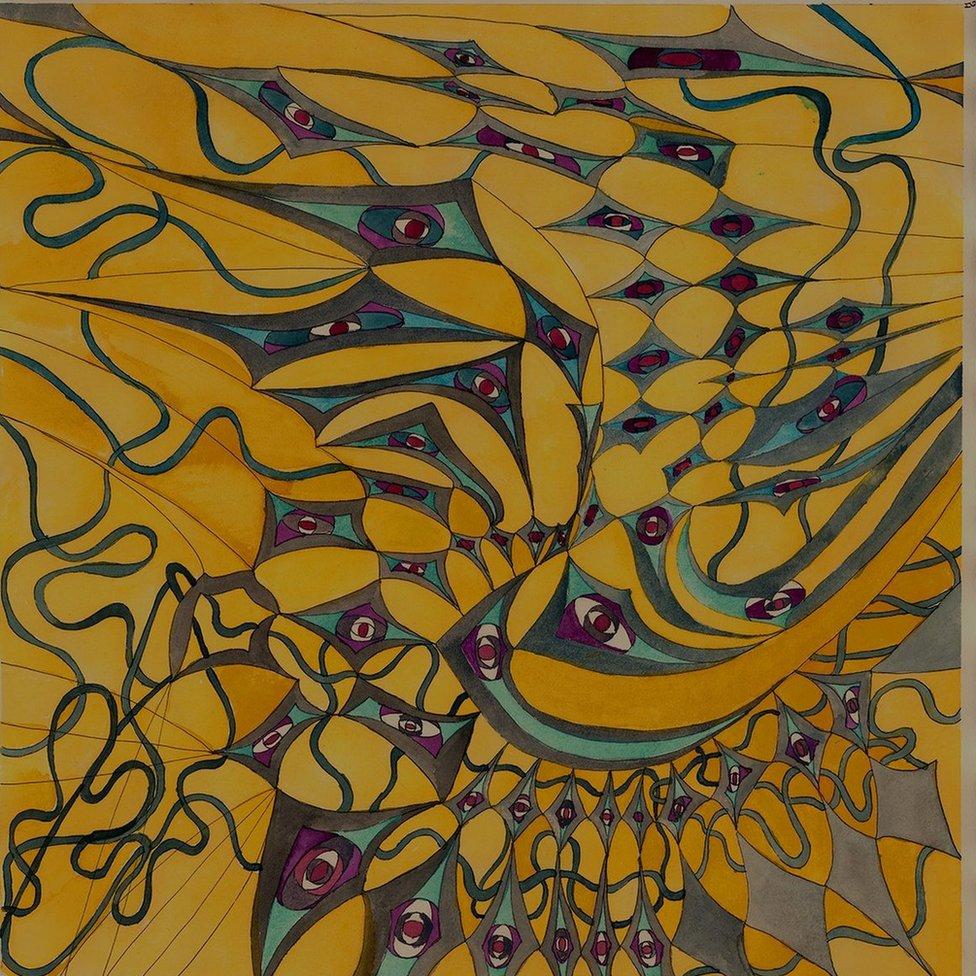 """Para Maya Cochrane descansar es dibujar Zentagle, un estilo que consiste en trazar de patrones y que sus aficionados aseguran que fomenta la calma y la meditación. """"Es la actividad con la que descanso tras un día estresante"""", dice."""