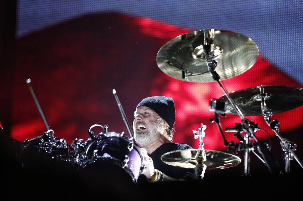 La banda de trash metal estadounidense Metallica, se presentó por cuarta vez en Colombia.