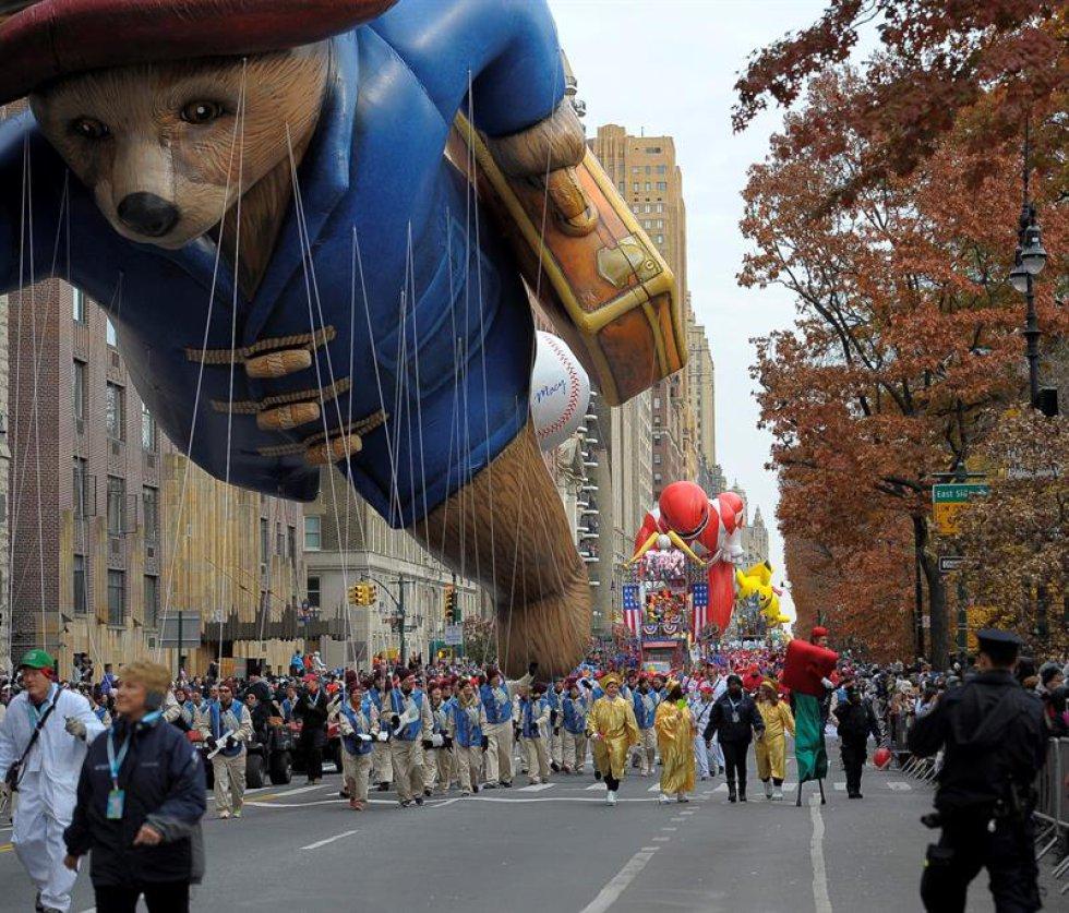 El desfile es también una buena oportunidad para ver algunos de los elementos más representativos de la cultura estadounidense.