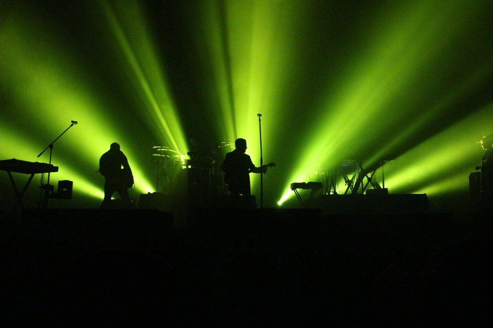 Everlast apareció en escena de Alamax con su estilo único mezcla dehip hopyrock acústico