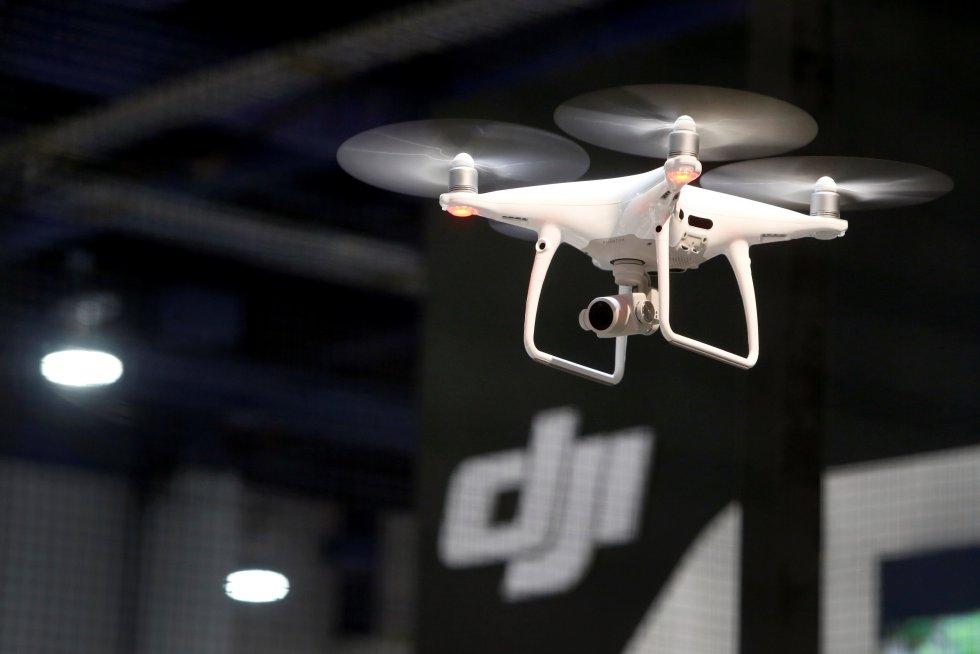 DJI mostró su dron, Phantom 4 Pro+.