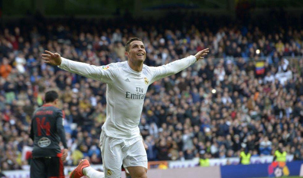 El portugués Cristiano Ronaldo, delantero de Real Madrid y ganador del premio The Best al mejor jugador.