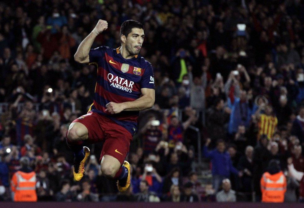 El uruguayo Luis Suárez, delantero de Barcelona.