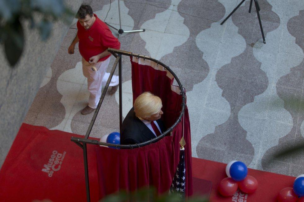 El martes en horas de la tarde fue revelada la nueva pieza del museo de cera de Madrid.