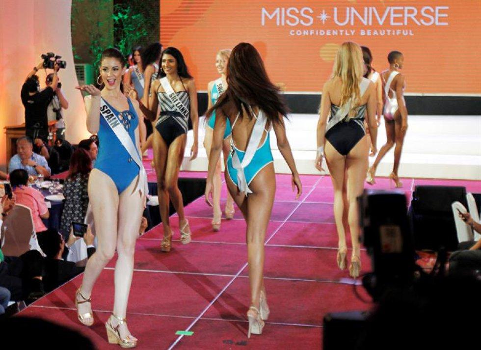 Las aspirantes participan en varios eventos antes del concurso que se celebrará el próximo 30 de enero. Un total de 86 candidatas competirán por la corona en la ciudad de Pasay, Filipinas.