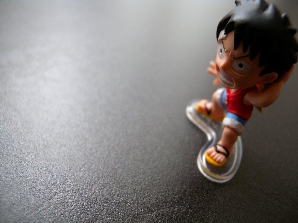 Luffy de One Piece. El anime cuenta con 775 episodios.