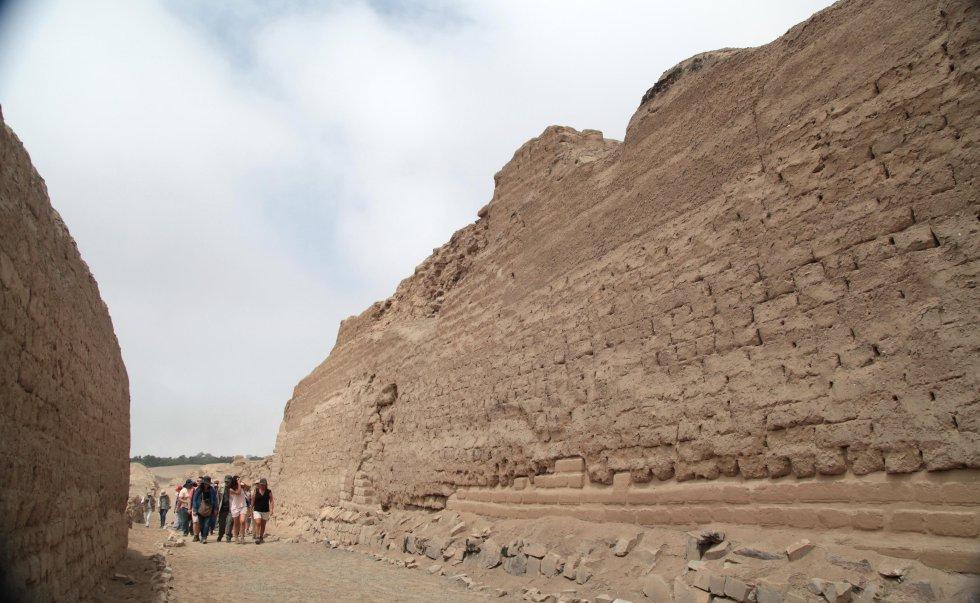 Cerca de quinientos años pasaron desde que los primeros españoles llegados a Perú incursionaron en el santuario de Pachacamac, uno de los principales dioses prehispánicos.