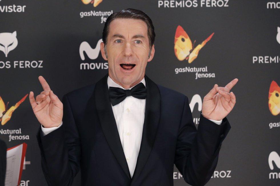 """El actor Antonio de la Torre, nominado por su papel en """"Tarde para la ira"""" y presentador de la gala, tuvo participación en """"Torrente 2: Misión en Marbella."""