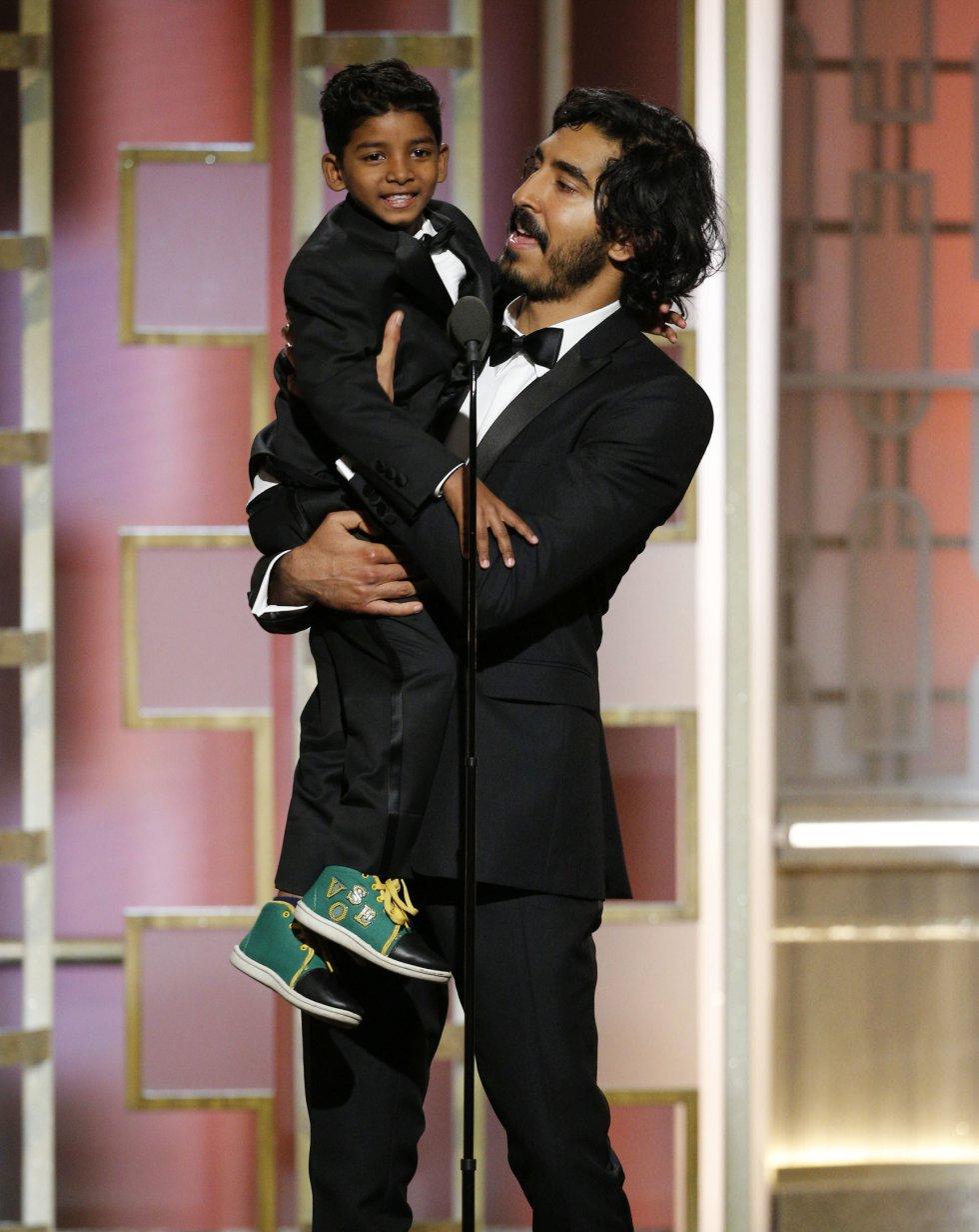 Dev Patel nominado al mejor actor.