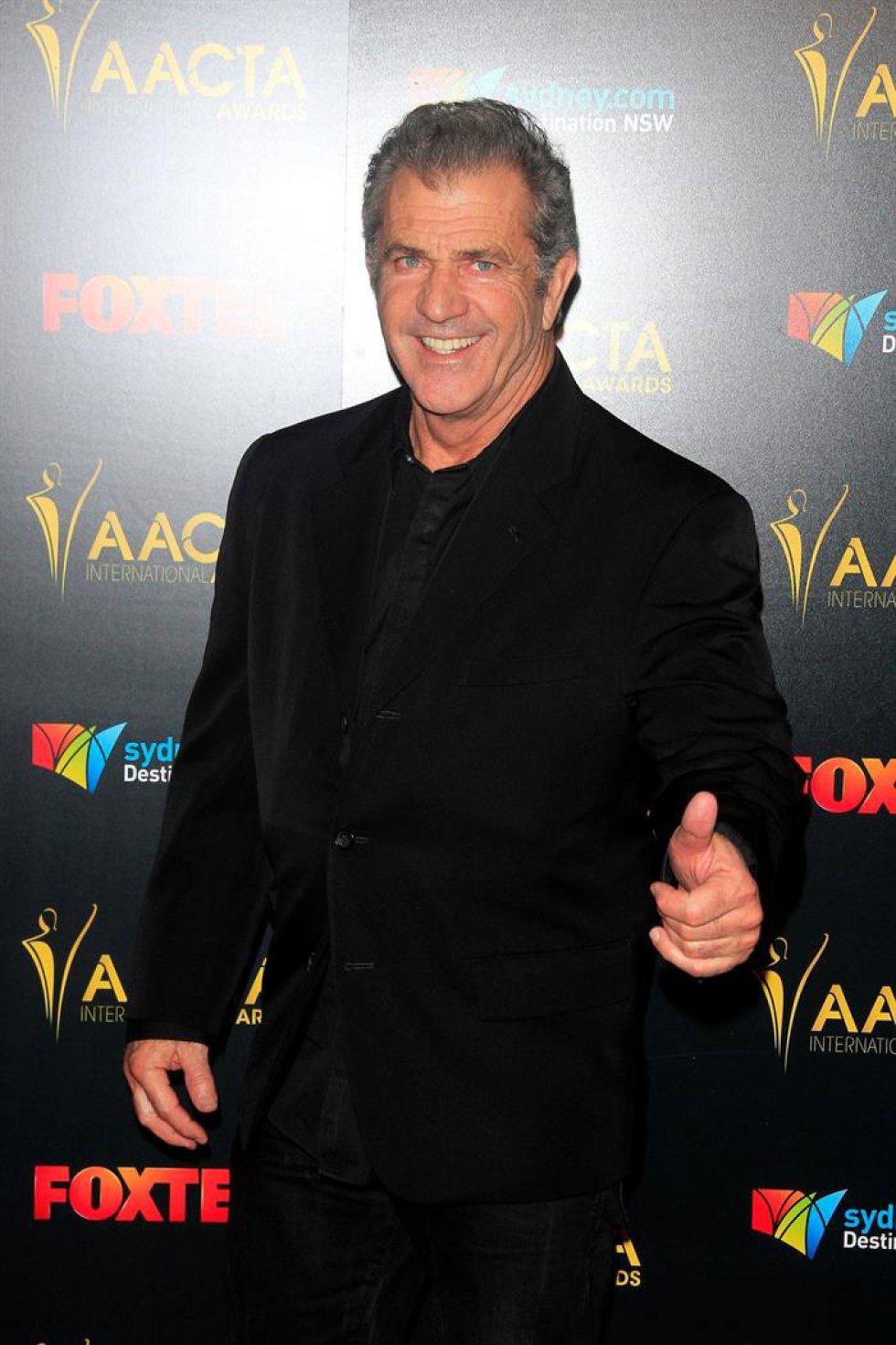 Mel Gibson nominado como mejor director.