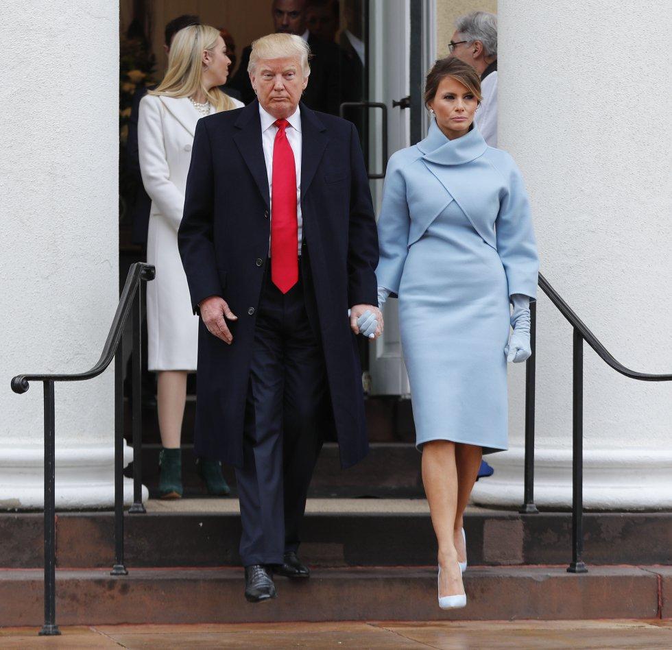 Es la tercera esposa de actual presidente de los Estados Unidos, Donald Trump.