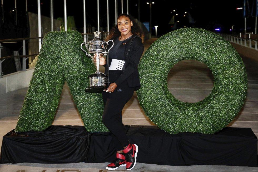 Serena Williams: En imágenes: el título de Serena Williams ante su hermana Venus