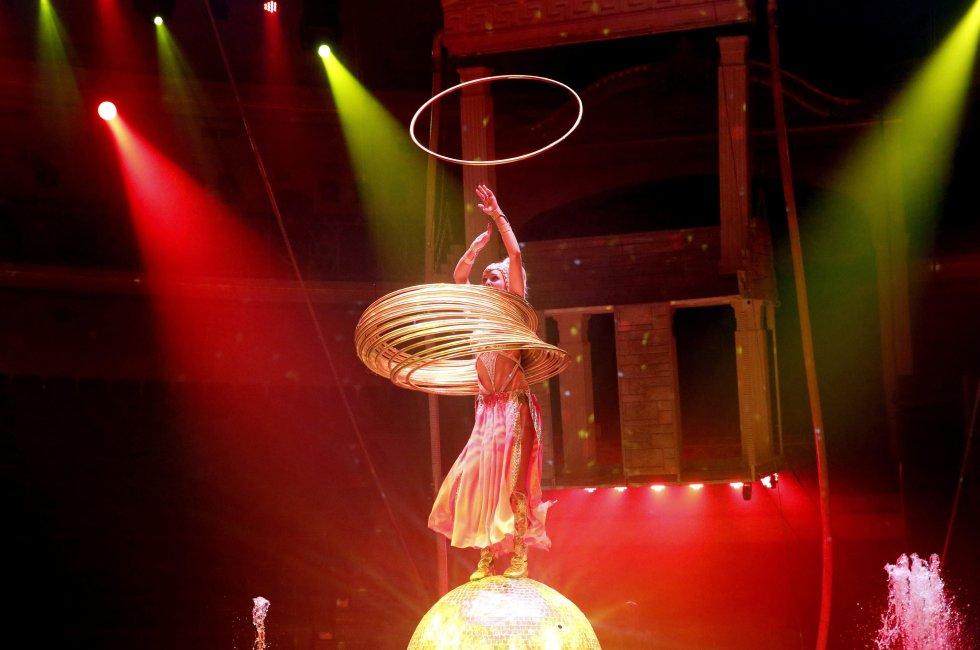 El circo abrió sus puertas en 1959 en la capital bielorrusa.