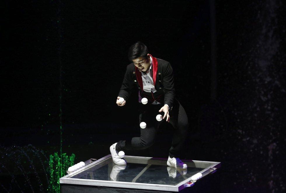 La magia e ilusión hacen parte de este show que atrae la atención de cientos de espectadores cada año.