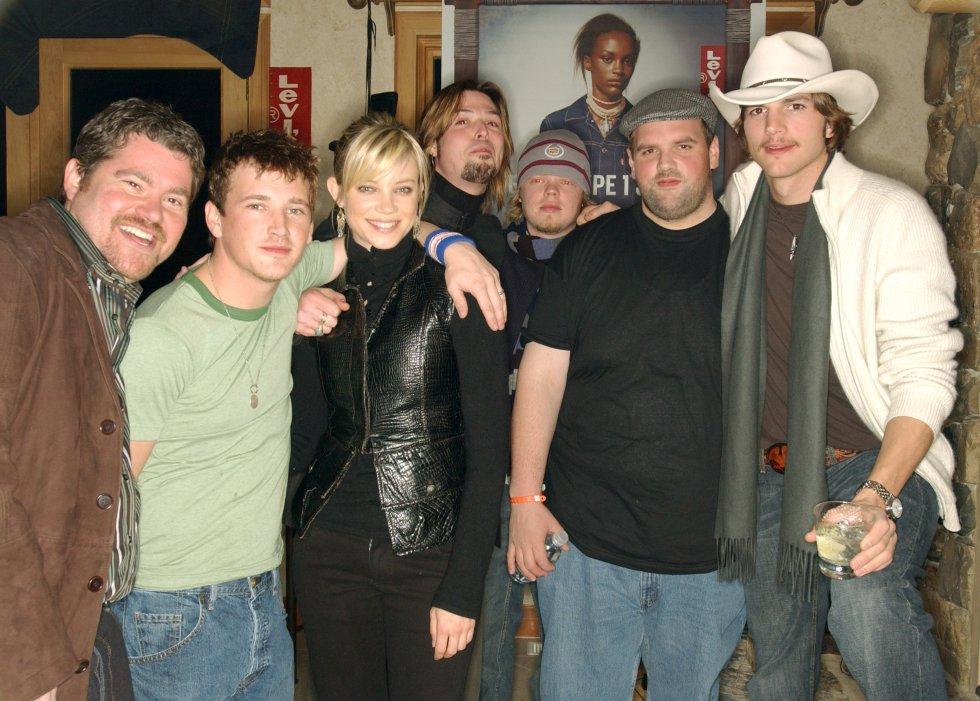 Eric Bress, William Lee Scott, Amy Smart, J. Mackye Gruber, Eldon Henson, Ethan Suplee y Ashton Kutcher hicieron parte del elenco de El Efecto Mariposa.