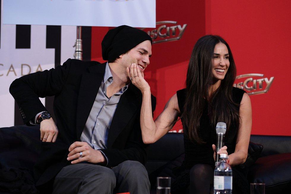 Demi Moore y Ashton Kutcher estuvieron casados durante seis años.